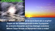 Harmlose Wasserdampf-Kondensstreifen- Konspiratisten- SekteHWKKS