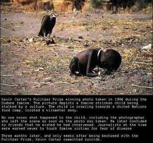 verhungerndes Kind