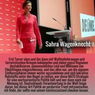Sahra who? Wagenknecht als Antithese zu von derLeyen?