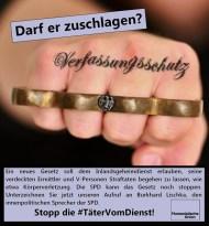 Stopp die #TätervomDienst