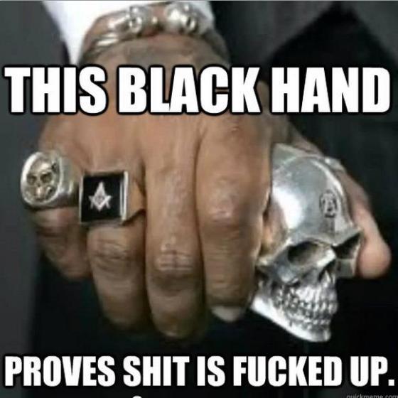black hand