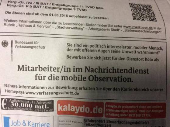 BND mobile Observation