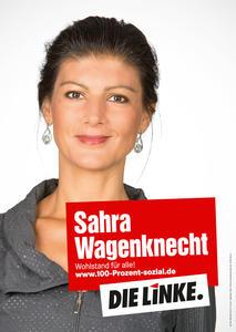 Wagenknecht Plakat