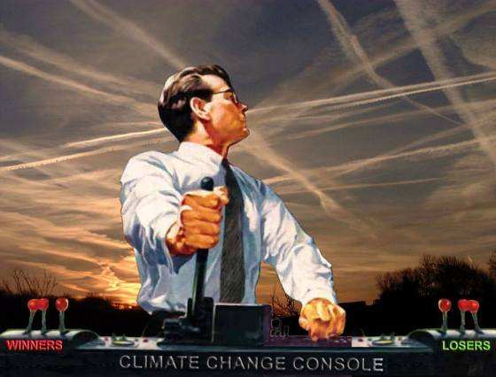 climate contral console