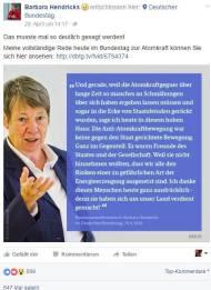 """Entschuldigt sich Ministerin Hendricks auch bald bei den """"Chemtrail-Kritikern""""?"""