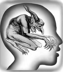 Dämon  im Kopf