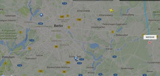 Flugstreik 10.3. Berlin