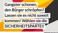 Seltsame Widersprüche in den deutschen Medien zum ThemaSicherheit!