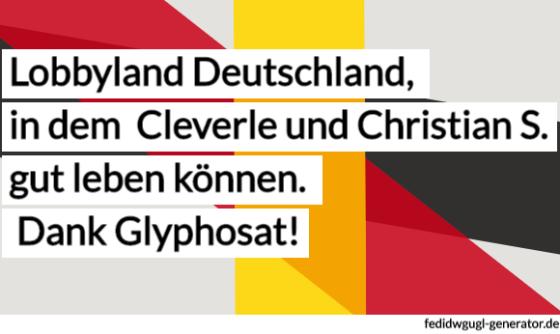 Dank Glyphosat