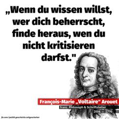 Voltaire Kritik