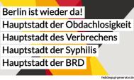 Berlin: Weltbürgermeister gesucht! Und neuer Polizeipräsident!