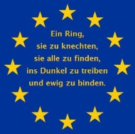 Papst Benedikt im Bundestag: Staat ohne Recht nurRäuberbande!