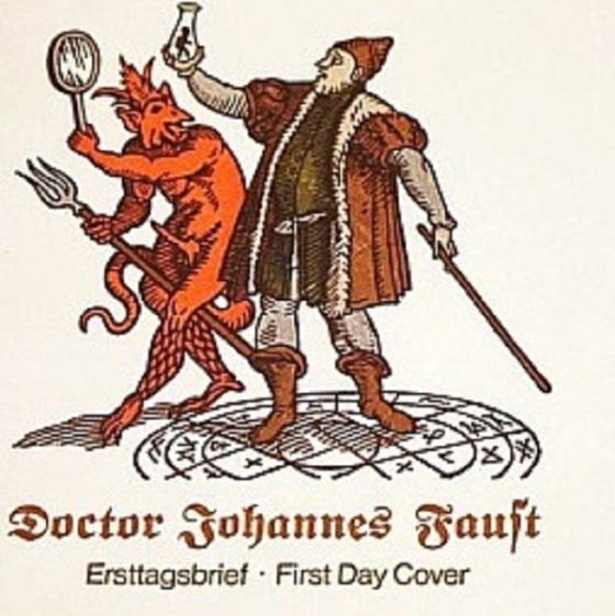Doktor Faust mit Wetterglas