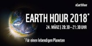 EArth Hour 24.3. 2018: Licht aus!