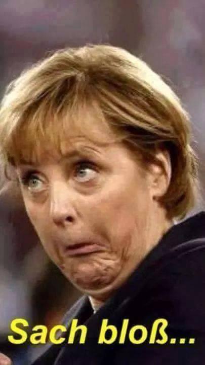 Merkel sach bloß