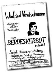 kretschmann berufsverbot