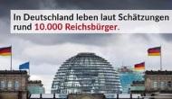"""Reichsbürgerverdacht auch bei """"Deutschland verrecke"""" –Strategen?"""