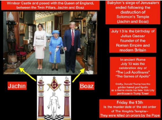Trump Queen boaz jachin